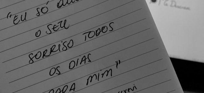 Caderninho escrito